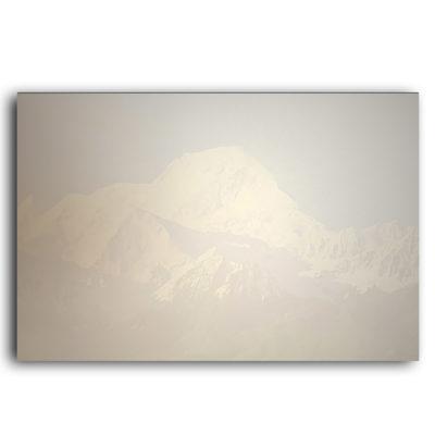 Carte de remerciements Montagnes